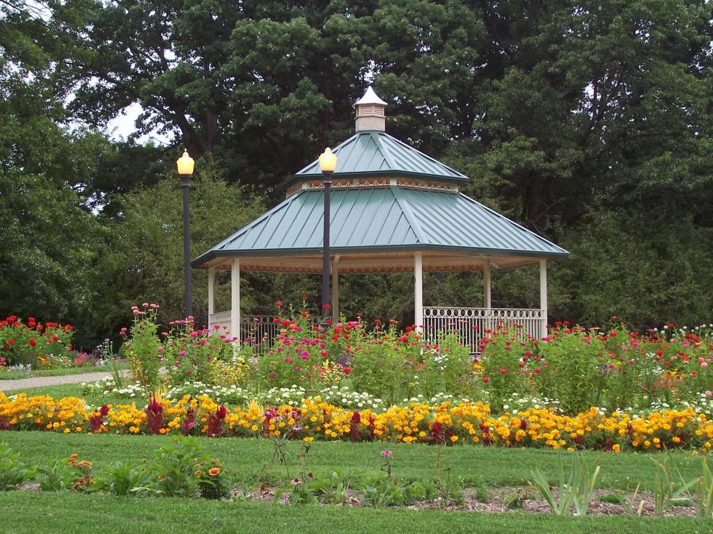 Scovill Gazebo Garden